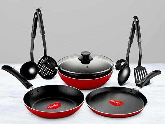 Cookware Sets On Amazon : स्टाइलिश Cookware Sets खरीदें किफायती दाम में Amazon से