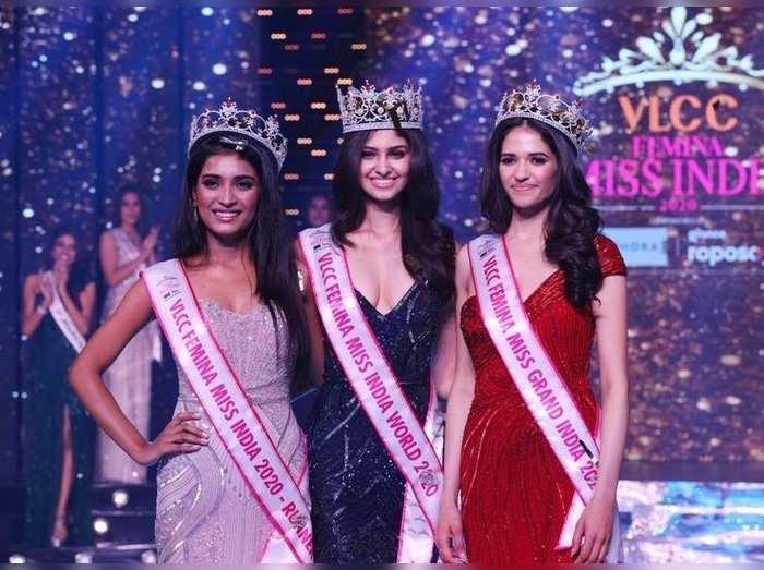 manasa varanasi wins the crown of miss india world 2020