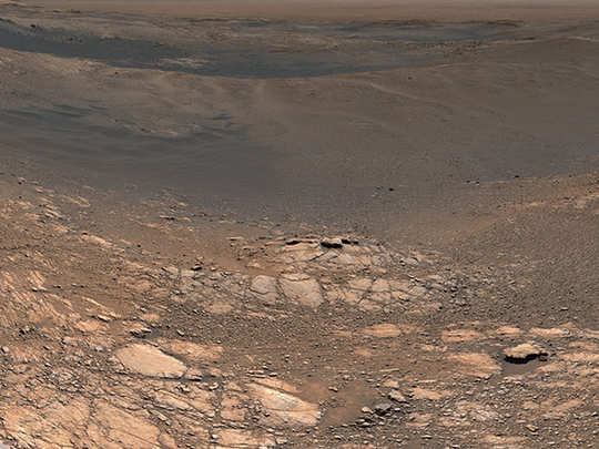 water vapors from mars suggest life was once possible
