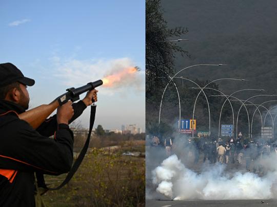 Islamabad turns into 'war zone