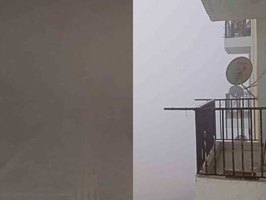 dense fog in different parts of the country including delhi ncr