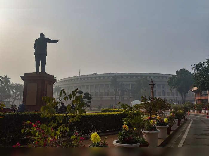 New Delhi: A view of Parliament House complex, in New Delhi....