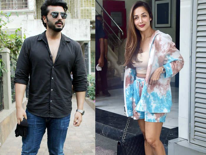 Malaika Arora with Arjun Aapoor spotted in Bandra