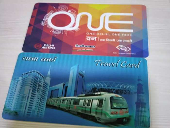 Metro smart card