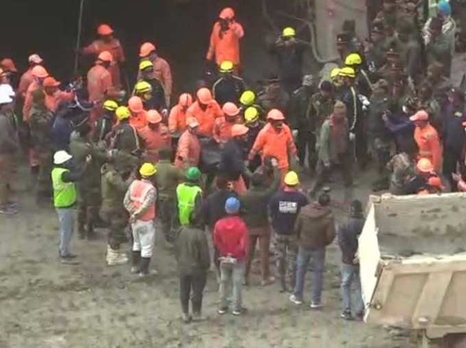 Rescue operation continues in Tapovan