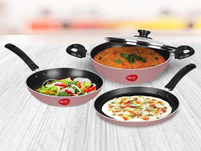 Cookware Sets On Amazon : इन नॉनस्टिक Cookware Set से करें हेल्दी कुकिंग, Amazon दे रहा भारी डिस्काउंट