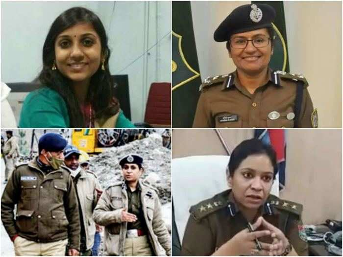 four women officers leading chamoli rescue operation to save those trapped inside tapovan tunnel