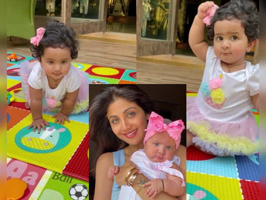 Shilpa Shetty daughter Samishas first birthday