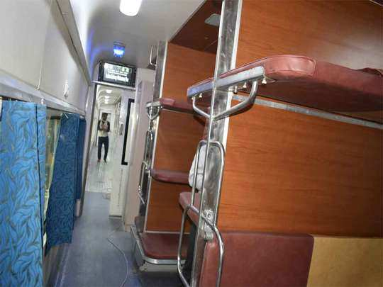 such facilities are seen in the sleeper coach of the train, know what has progressed