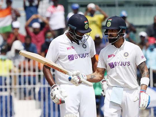 india vs england virat kohli half century in chennai test social media praised his innings