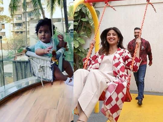 Raj Kundra shared an adorable video of daughter Samisha