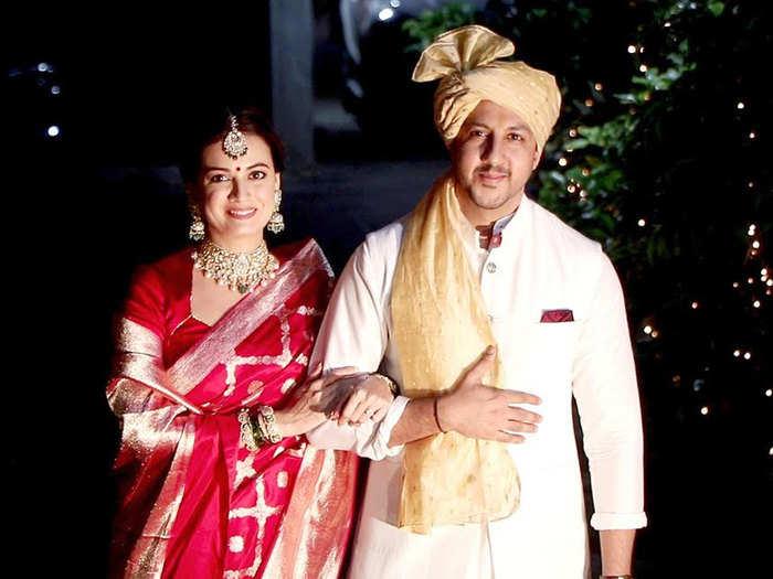 dia mirza wedding photos with husband vaibhav rekhi