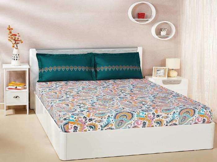 Bedsheet On Amazon : खरीदें 100% कॉटन से बनी खूबसूरत Bedsheets, Amazon दे रहा 70% तक की भारी छूट