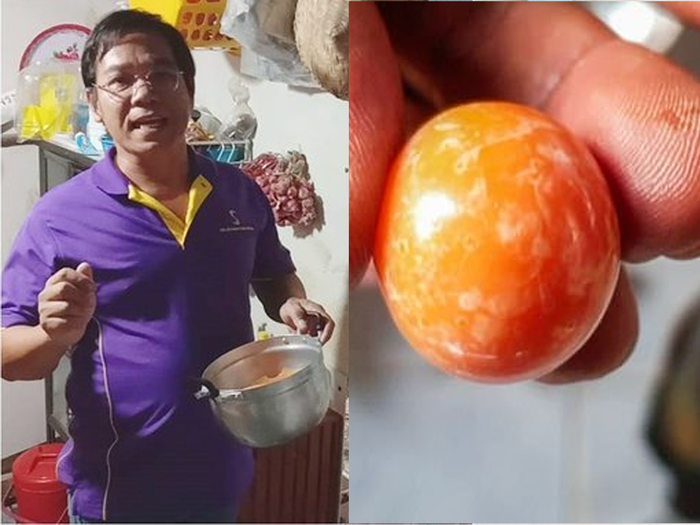 thailand trucker finds rare melo pearl as he eats sea snail for lunch
