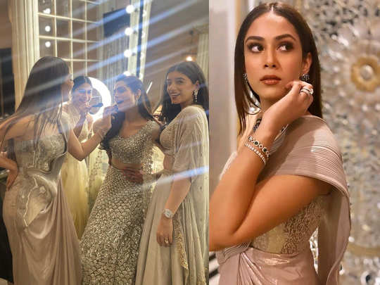 Mira Rajput attends friends wedding