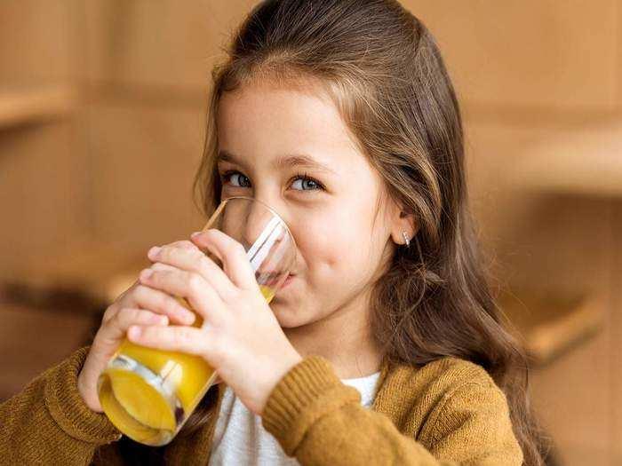 side effects of fruit juice to kids in marathi