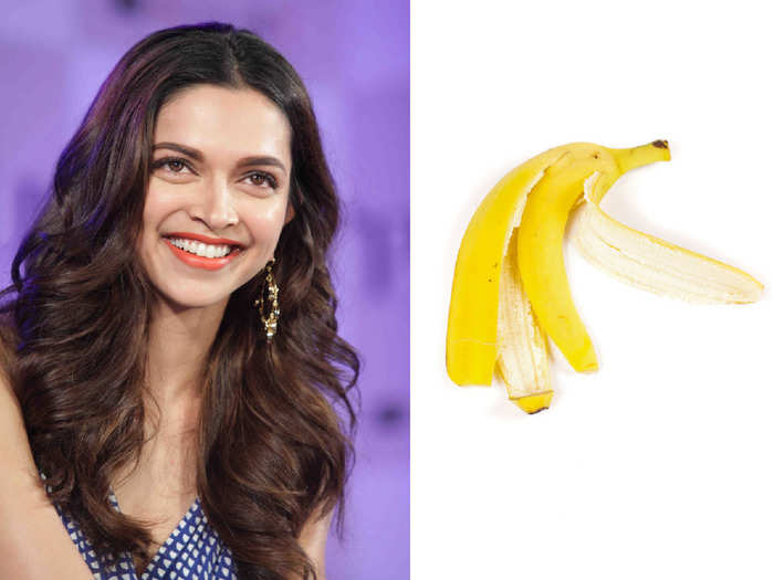 banana peel use to have flawless skin and beautiful hair