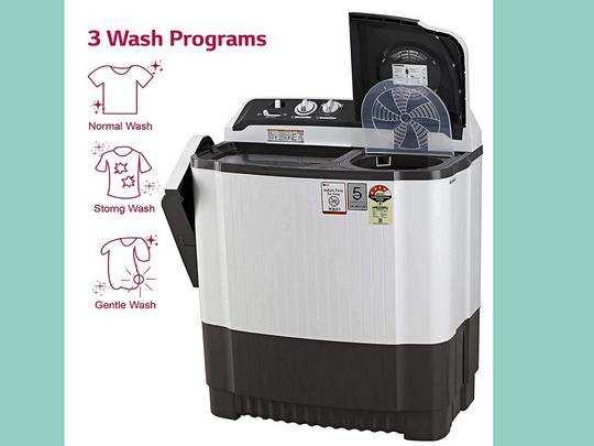 इस्तेमाल में आसान और हाई पर्फॉर्मेंस वाली हैं यह Washing Machine, डिस्काउंट पर घर मंगाएं