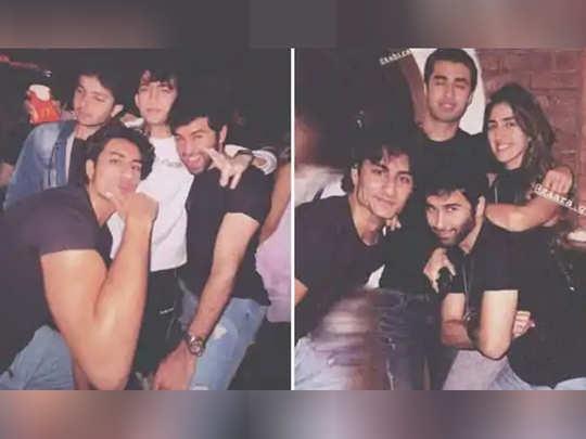 saif ali khan son ibrahim ali khan sohail khan son nirvan party with friends see photos