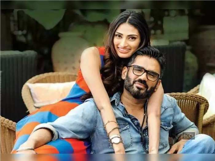 suniel shetty relation with his daughter athiya in hindi