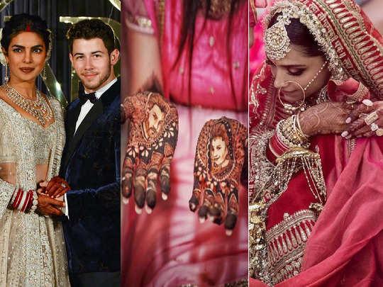 priyanka chopra to divyanka tripathi wedding mehendi designs