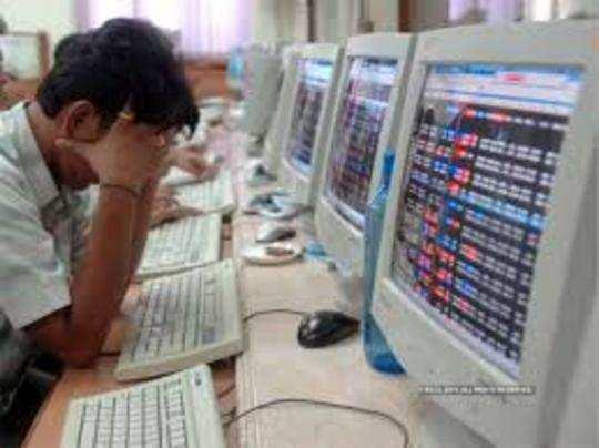 शेयर बाजार में गुुरुवार को भी गिरावट का दौर जारी रहा।
