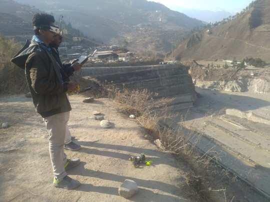 उत्तराखंड आपदा में कारगर साबित हुआ IIT कानपुर का ड्रोन, सुरंग के भीतर से भेजी लाइव एचडी वीडियो