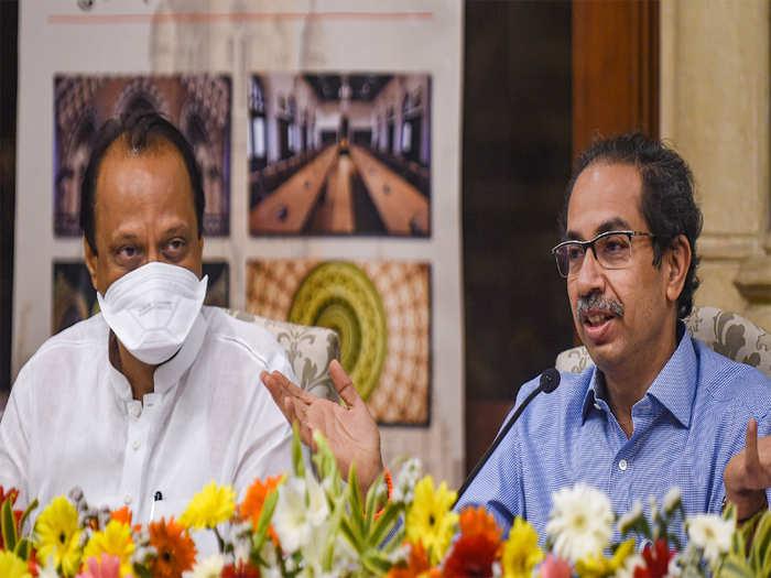 Ajit Pawar- Uddhav Thackeray