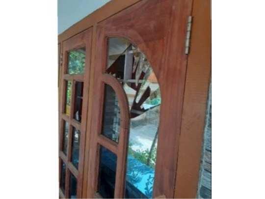 Attack against Pandalam native Anshads house