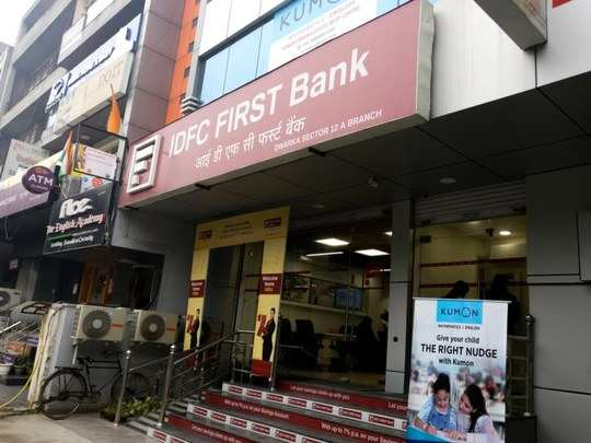 idfc first bank share price touched 52 week high