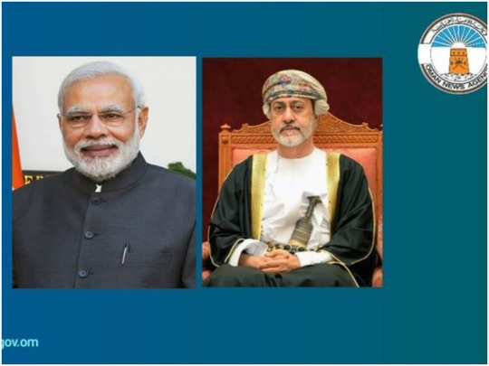 oman sultan speaks on telephone with india prime minister modi