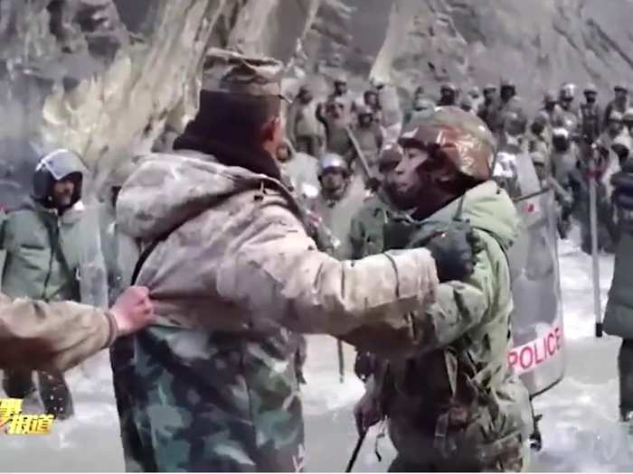 galwan clash video revels chinese army pla entered in 50 meter from lac in indian territory and attacked on indian army
