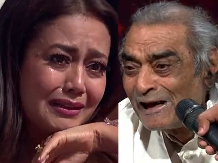Neha Kakkar Started Crying on Santosh Anand emotional story