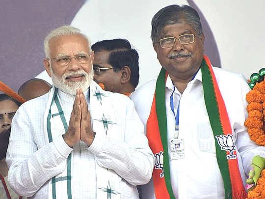 Narendra Modi-Chandrakant Patil