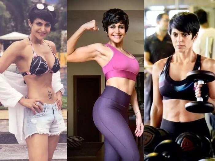 mandira bedi toned figure know her workout and diet plan secrets in marathi