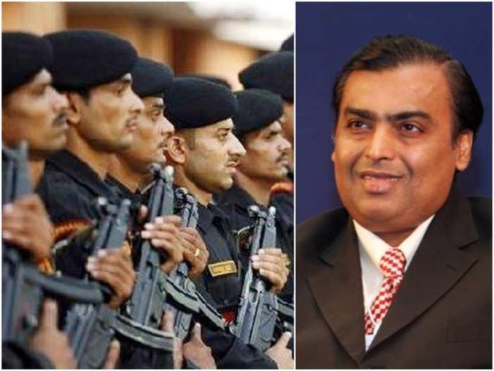 Security for Mukesh Ambani