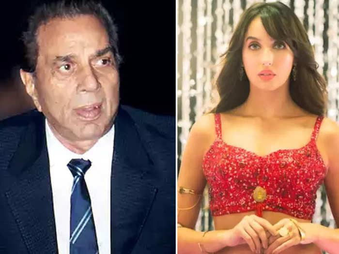 Dharmendra And Nora Fatehi