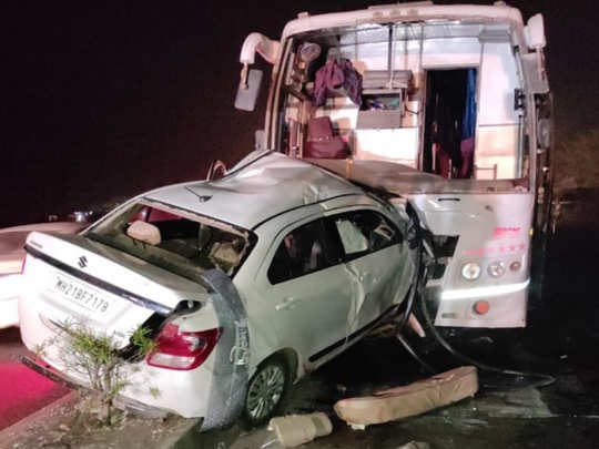 Ahmednagar Accident