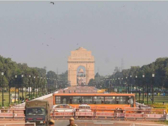 Delhi weather improved