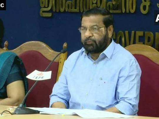 Minister Kadakampally Surendran