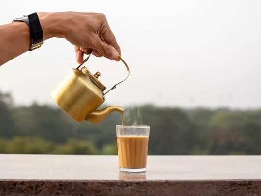 what are the benefits of drinking water before drinking tea in marathi