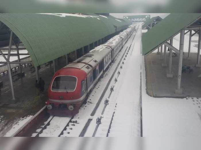 train operations in kashmir valley to resume on banihal-baramulla section from 22nd february