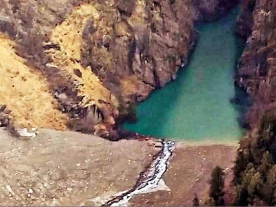 सैटलाइट इमेज के जरिए मिली नई झील की जानकारी