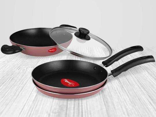 Cookware Set On Amazon : इन कॉम्बो नॉन स्टिक Cookware sets पर मिल रही खास छूट, यहां से जाने ऑफर्स