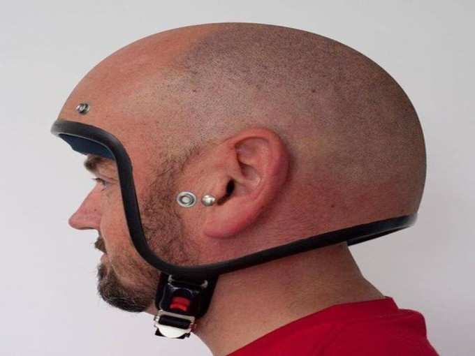 एकदम सिर जैसा!