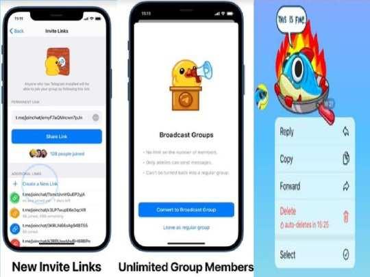 Telegram New Features Updated 2