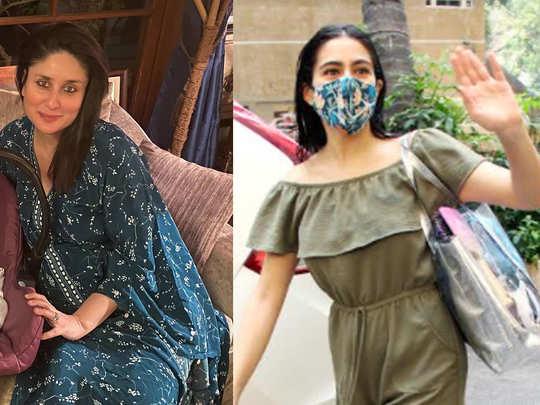 Sara Ali Khan brings gifts for kareenas baby