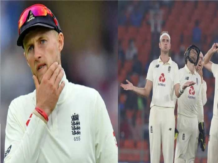 Joe Root and england Team in Pink Ball Test