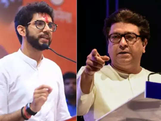 Aaditya Thackeray-Raj Thackeray