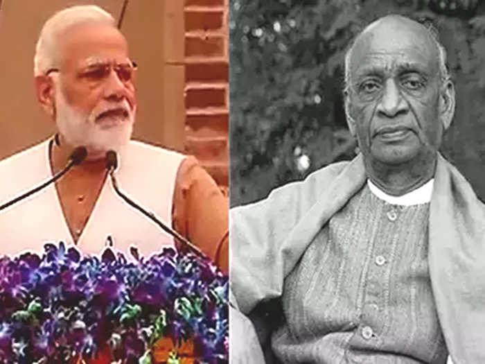 Narendra Modi-Sardar Patel